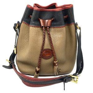 Vintage Dooney & Bourke Teton Bucket Bag